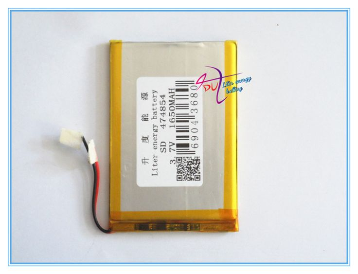 Supply polymer lithium battery 3.7V 1640mAh 474854   MP4 / 5 / Taipower Tablet GPS #Affiliate