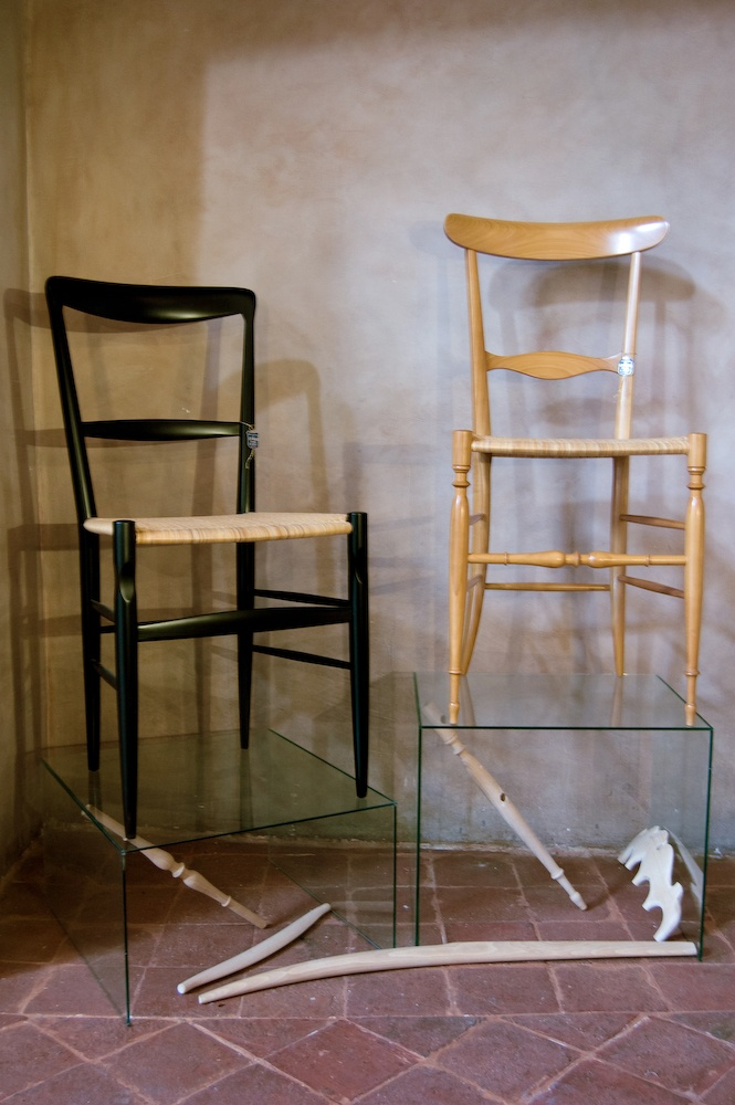 """liguriastyle   le sedie chiavarine. Did you know that the famous chiavarine chairs were invented in Liguria? the word chiavarine means """"from chiavari"""", a town in Liguria."""