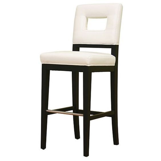 Found it at www.dcgstores.com - ♥ ♥ Biance White Leather Bar Stool ♥ ♥