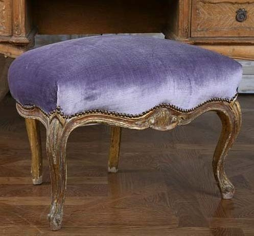 Vintage French footstool