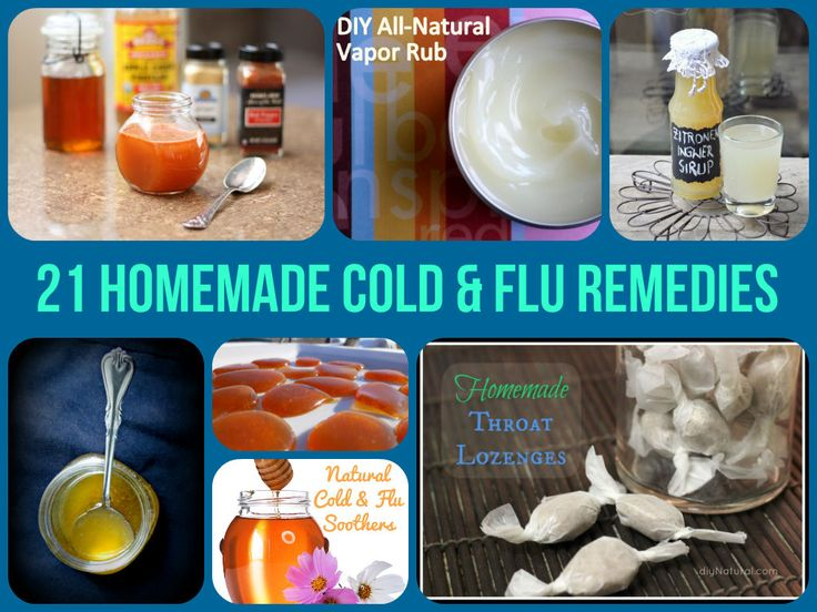 21 Homemade Cold & Flu Remedies That Really Work... http://www.homemadehomeideas.com/21-homemade-cold-flu-remedies-that-really-work/  It's that time of year again where illness is running riot! With these fantastic homemade recipes, you can learn how to treat a cold and get yourself back to full health in no time. From syrups, to lozenges, to decongestants this round-up has got it all!