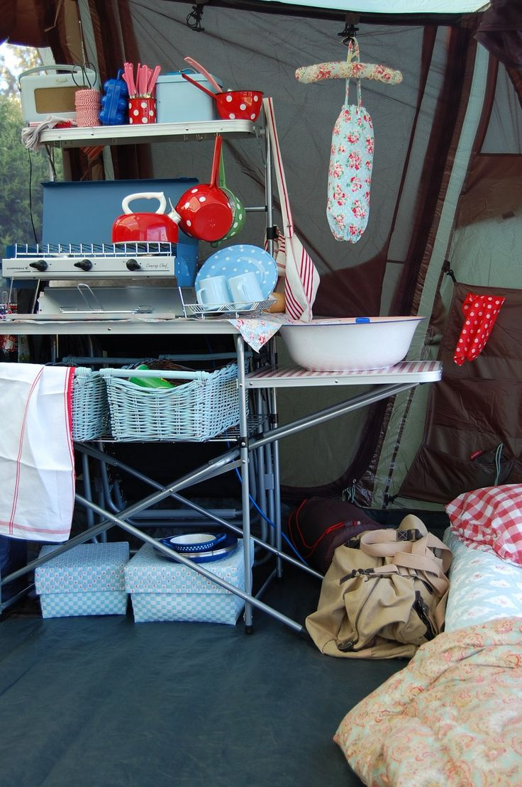 70 best The Best of Camping Kitchens! images on Pinterest | Camping ...