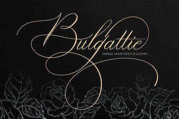 Bulgattie by Alcode on @creativemarket