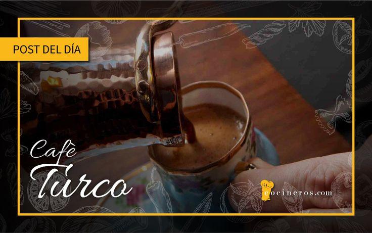Una reliquia turca,la Unesco,lo nombró patrimonio cultural inmaterial de la Humanidad.Se utiliza grano de café arábigo,molido finamente, como la harina.Se mezcla agua fría con la molienda,en un recipiente llamado Cezve. Fuente:http://www.cocinacondavid.com/r?utm_content=buffer0d5dc&utm_medium=social&utm_source=pinterest.com&utm_campaign=buffer Foto: http://mundodelcafe.es/?utm_content=buffer93047&utm_medium=social&utm_source=pinterest.com&utm_campaign=buffer