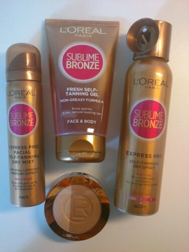 New self tanning spray and gel from Loreal. Stay tuned for the up coming review at www.beautybybruun.dk/b
