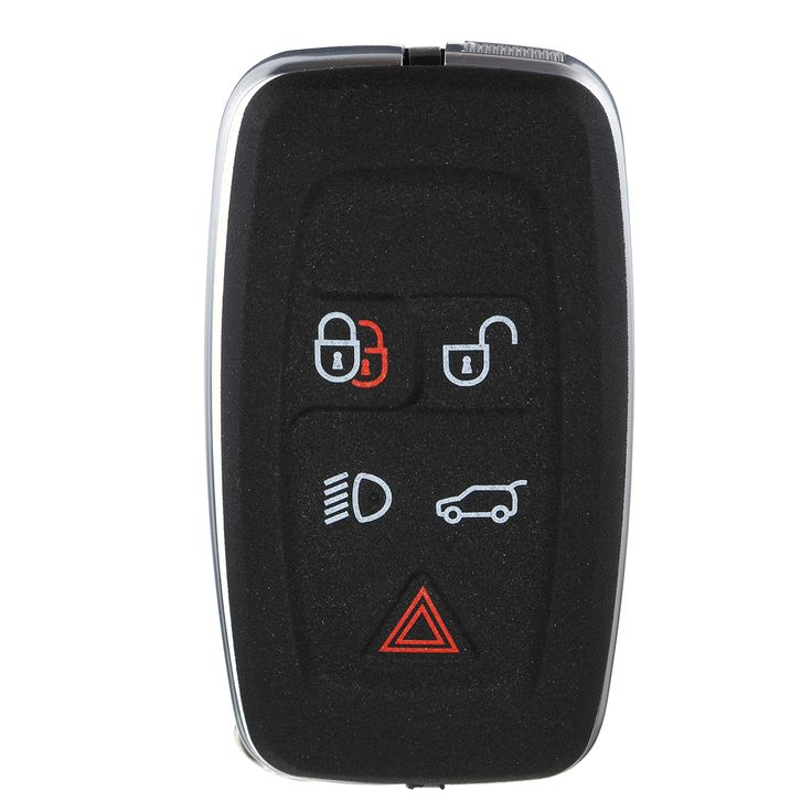 5 Buttons Black Remote Key Fob Case Shell For LAND Range Rover/Sport 2010-2012