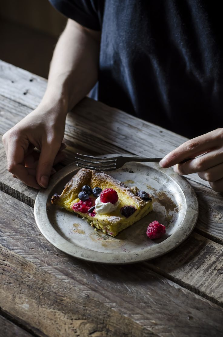 Baked french toast, il pain perdu al forno