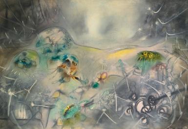 Roberto Matta - Earth Rebirth - 1953