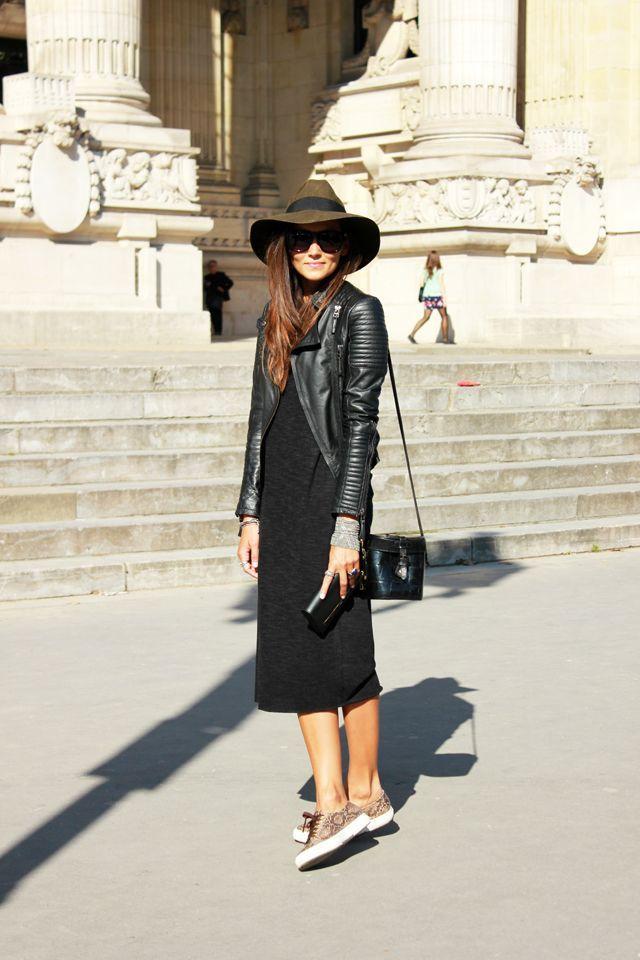 black midi dress                                                       …