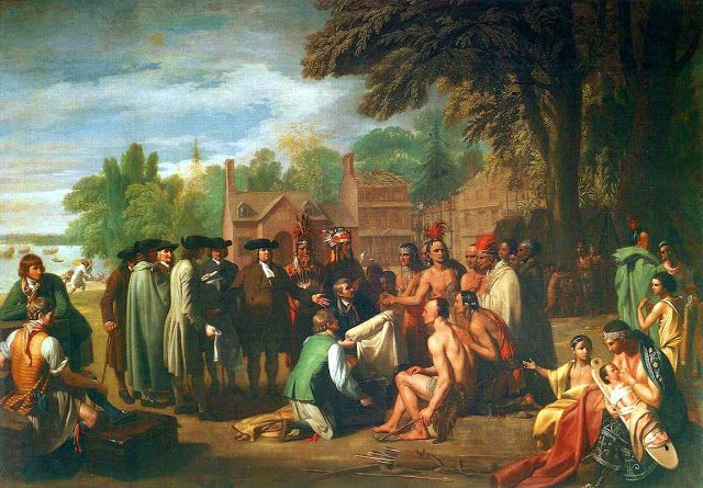 Benjamin West, The William Penn's Treaty with the Indians, 1772