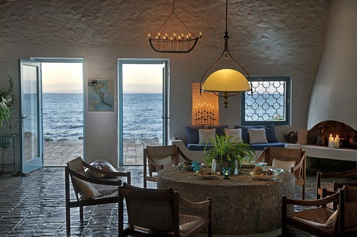Absolute Waterfront Villa Dining Area