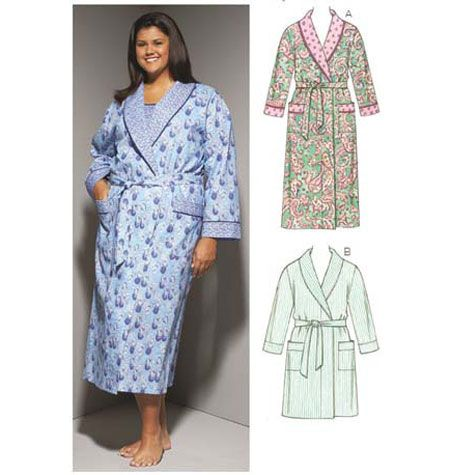 Kwik Sew Women s Robes pattern-Kwik Sew Women s Robes pattern ... 31dc1f270