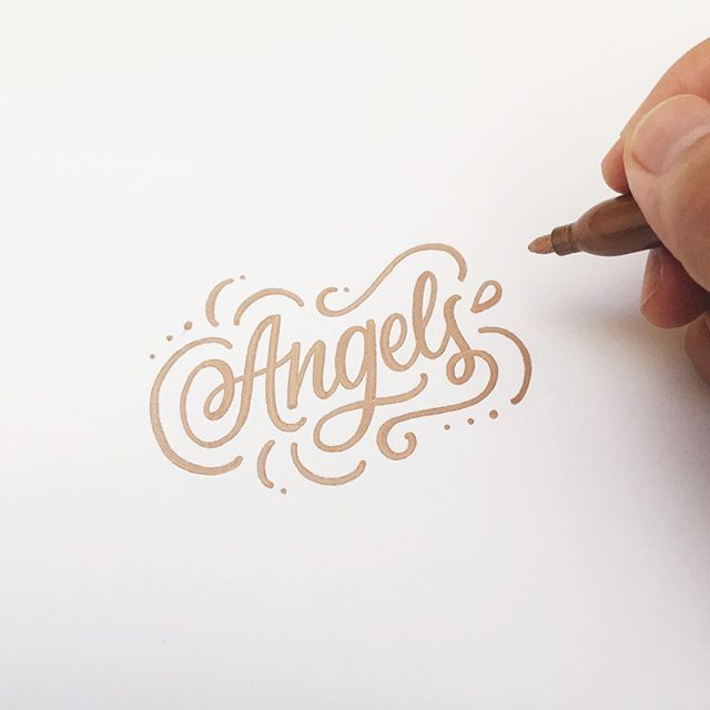 City of ... - Lettering by Wink & Wonder