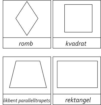 namn på geometriska former - Sök på Google