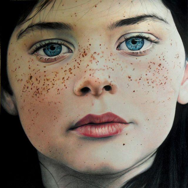 Increíble Retrato Hecho a Lápiz Amy Robins