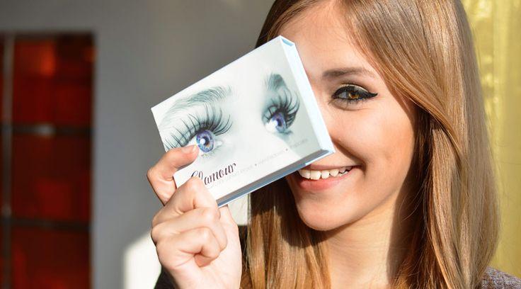 Glamour-Box - Farblinsen mit passendem Lidschatten   Lensstyle