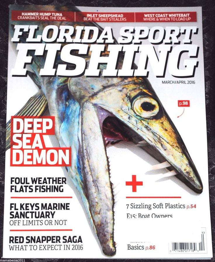Florida Sport Fishing Magazine March/April 2016