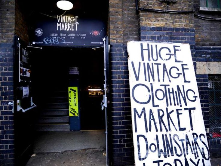 Vintage Market in Brick Lane, East London, UK | Laugh Travel Eat