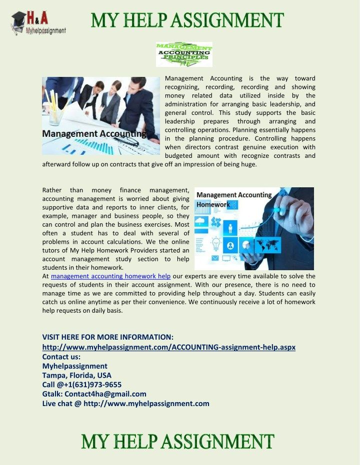 We are offering best homework help service in many management accounting topics some of which are Foundation of Economics, Cash Fund, Business Law, Accounting for Special Procedure, Ethics of Accounting, Accounting Partnership, Business Accounting, Cash Control and Banking Activities, and the list goes on.