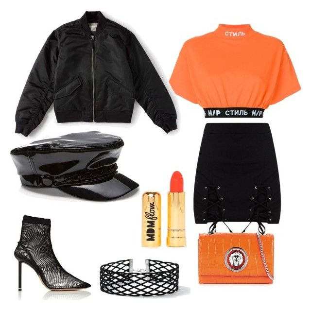 Sports mix⚽️🏀🏈 by melissajayneward on Polyvore featuring polyvore, fashion, style, Heron Preston, Everlane, Alexander Wang, Versus, Miss Selfridge, Nasty Gal and clothing
