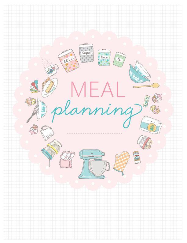 45 best Meal Planning images on Pinterest Freezer meals, Menu - menu planner templates