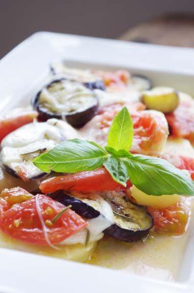ナスとトマトのチーズオーブン焼き | 美肌レシピ