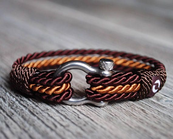 Beautiful Brown Rope Bracelet Classy Cord Bracelet Luxurious