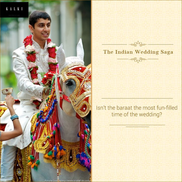 The grandeur of a dulha on his wedding is unparalleled. Why do you think the groom sits on a horse?