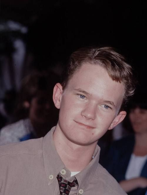 Neil Patrick Harris in youth