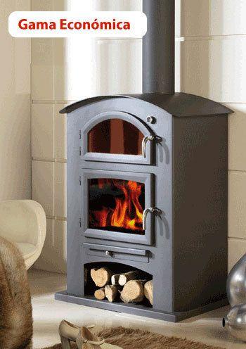 40 best images about estufas de le a wood stove on pinterest - Estufa con horno ...