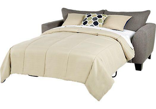 picture of Bonita Springs Gray Sleeper Loveseat  from Sleeper Loveseats…
