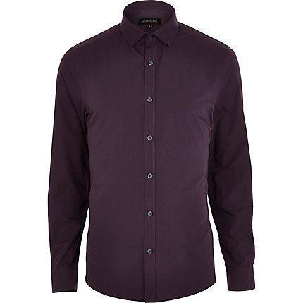 Purple long sleeve shirt £20.00