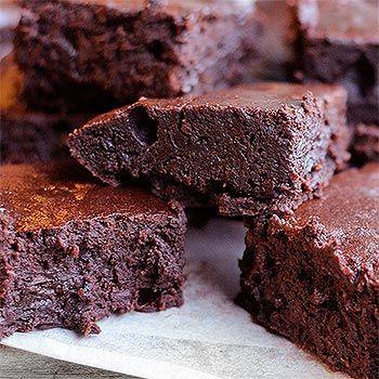 Céklás brownie. Egészséges diétás és gluténmentes recept