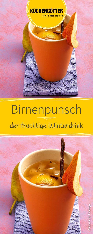 Rezept für leckeren Birnenpunsch