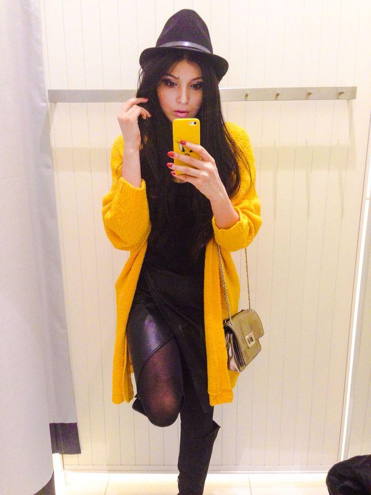 Yellow... More on my INSTAGRAM: @kristinazavarski