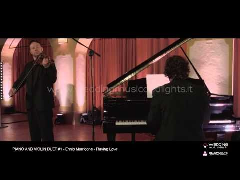 Piano And Violin Duet #1 - Playing Love   http://weddingmusicandlights.it/