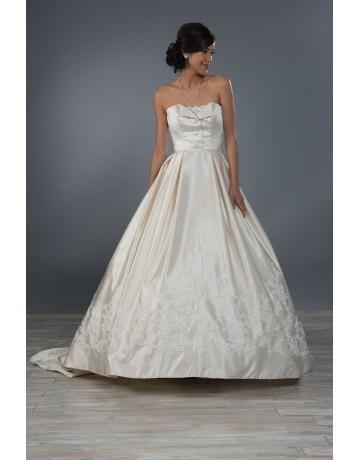 abiti da sposa abito da ballo chiesa taffettà