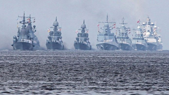 Russia S Navy Day Parades In Pictures Navy Day Navy Ships Warship