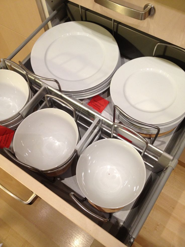 Ikea kitchen - I need drawers like these.                                                                                                                                                                                 More