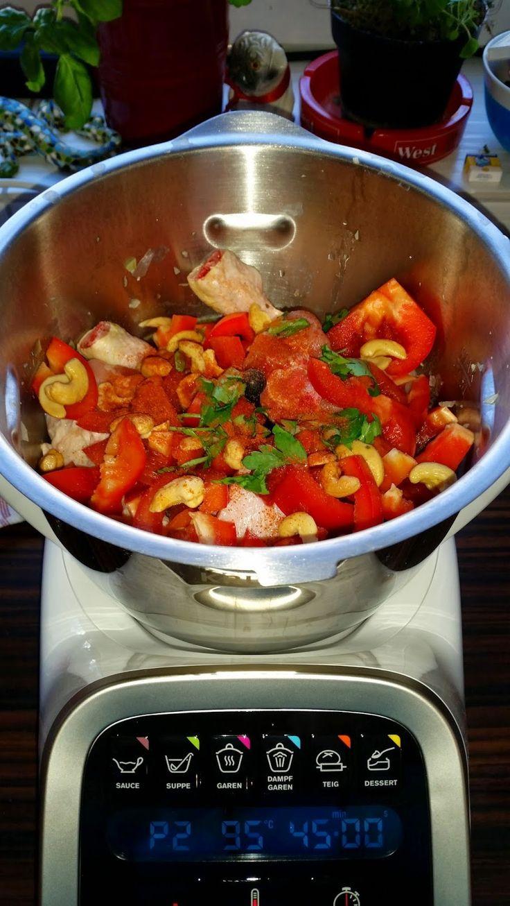 Krups Prep and Cook Test, Huhn mit Cashewnüssen, Prep & Cook Erfahrungen