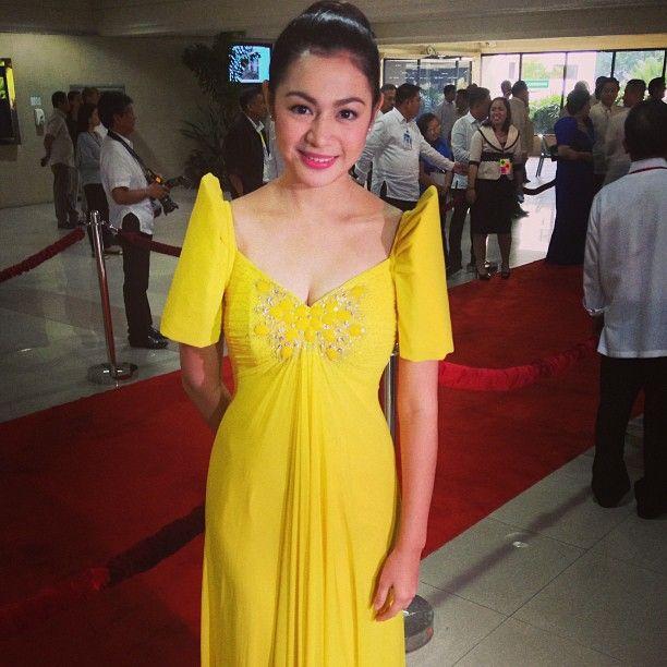 Rajo Laurel Wedding Gowns: Charee Pineda In Rajo Laurel, Isa Siya Sa