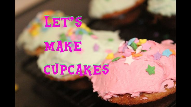 Making Pastel Rainbow Cupcakes!