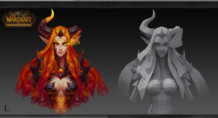 ArtStation - Favorite world of Warcraft ——, F L
