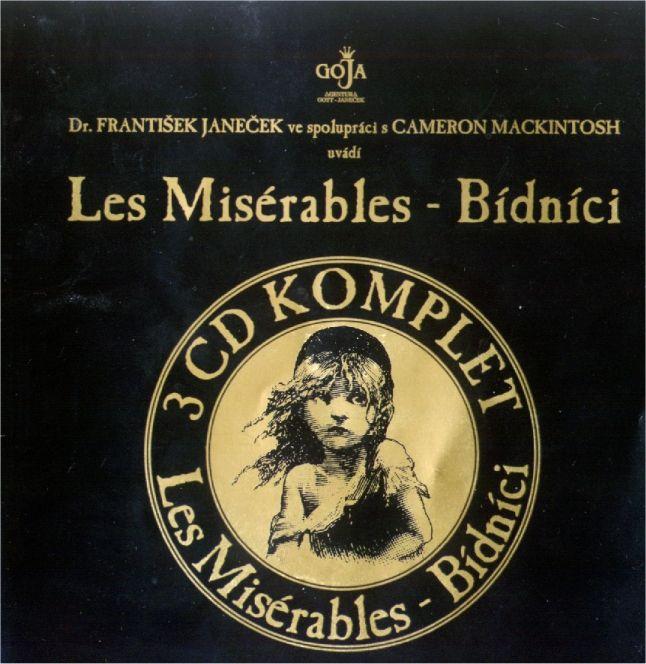 Bídníci - Les Misérables (3 CD) 2004 Czech artist  http://bidnici.euweb.cz/navic/predek.jpg