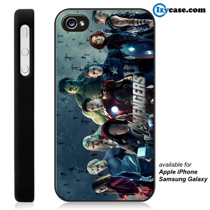The Avengers Age of Ultron Phone Case | Apple iPhone 4/4s 5/5s 5c 6 6 Plus Samsung Galaxy S3 S4 S5 S6 S6 Edge Hard Case