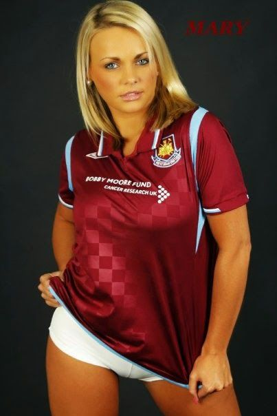 Image result for SEXY WEST HAM UNITED WOMEN Soccer Fans b10fb2a65