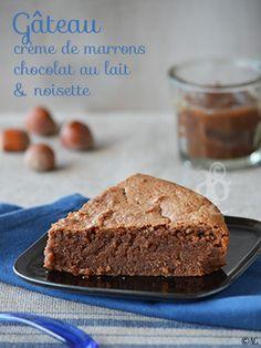Gâteau à la crème de marrons, chocolat au lait & noisette - Alter Gusto