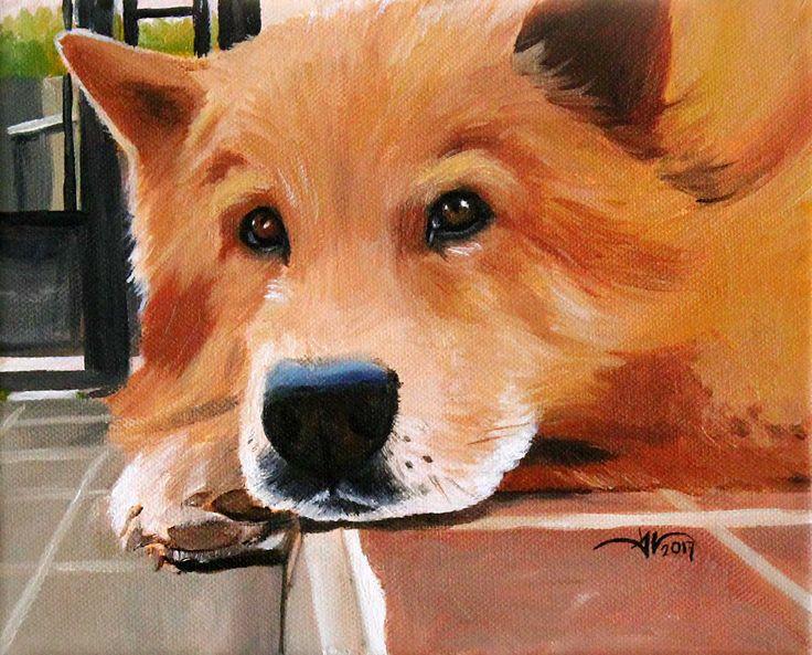 Ron. Oil on canvas  20 x 25 cm.   Follow my work on facebook and instagram : @DanielaValentiniArt