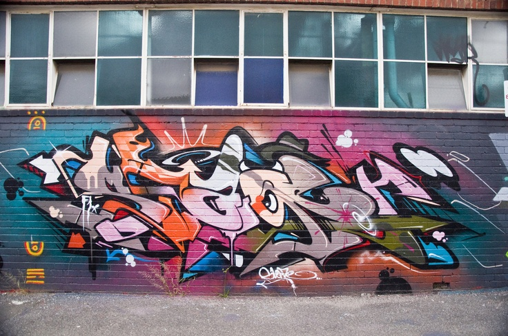 Graffiti, Ovens Street, Brunswick #melbourne #graffiti #streetart #nikon #photo #flickr