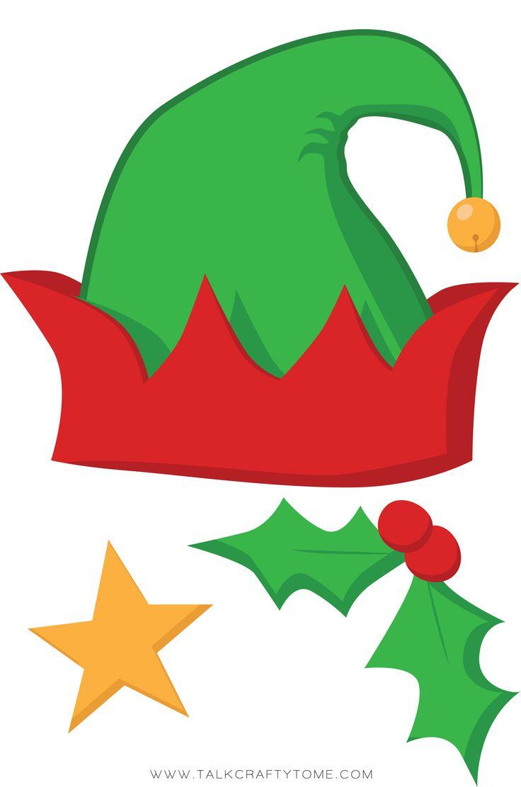 Christmas Photo Booth Printables
